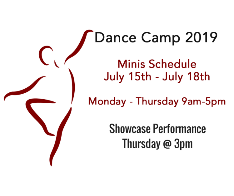 Minis Dance Camp – Conservatory for the Arts DANCE CAMP